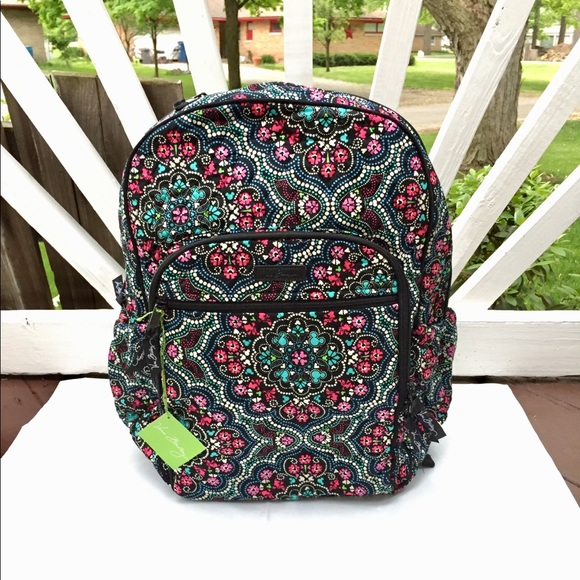 0d5c500db6 Vera Bradley Disney Medallion Campus Tech Backpack
